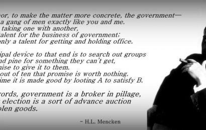 H.L. Mencken, The Original Skeptical Libertarian