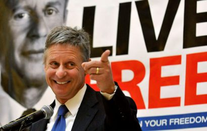 Gary Johnson Wins (If People Vote On The Issues)